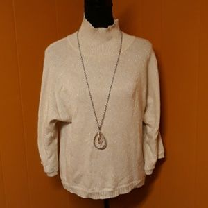 New York and Company sweater top sz M